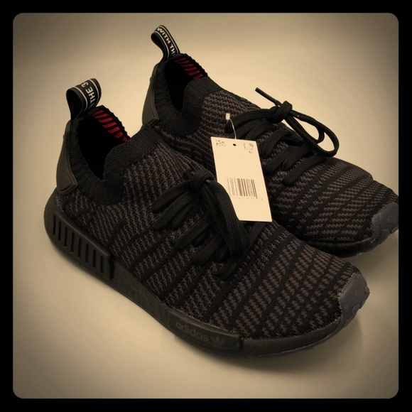25b9870e adidas Shoes | Nmd R1 Rare Triple Black | Poshmark